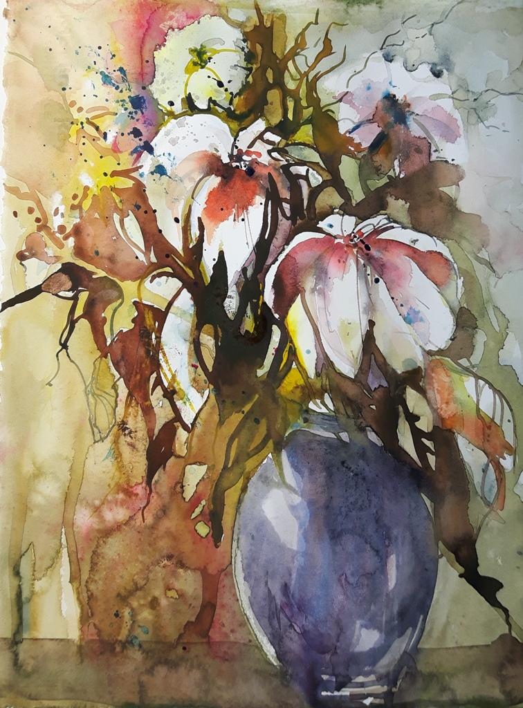 Blumen Aquarell kaufen