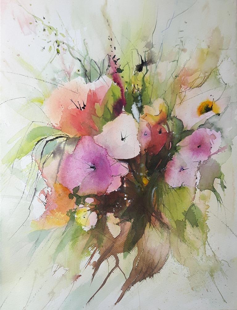 Malven Blüten