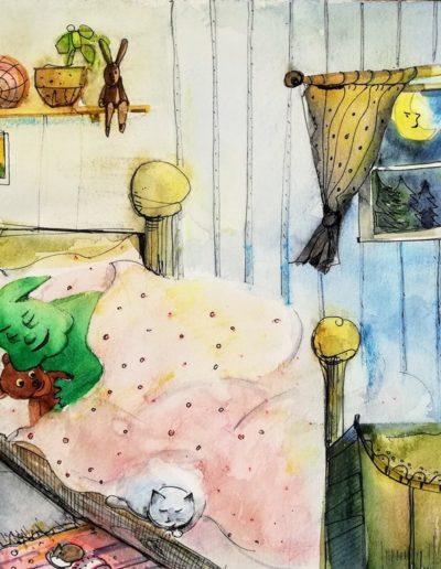 knödl schläft