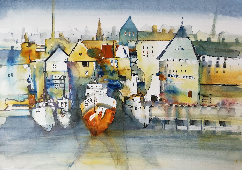 Hansestadt Schiff