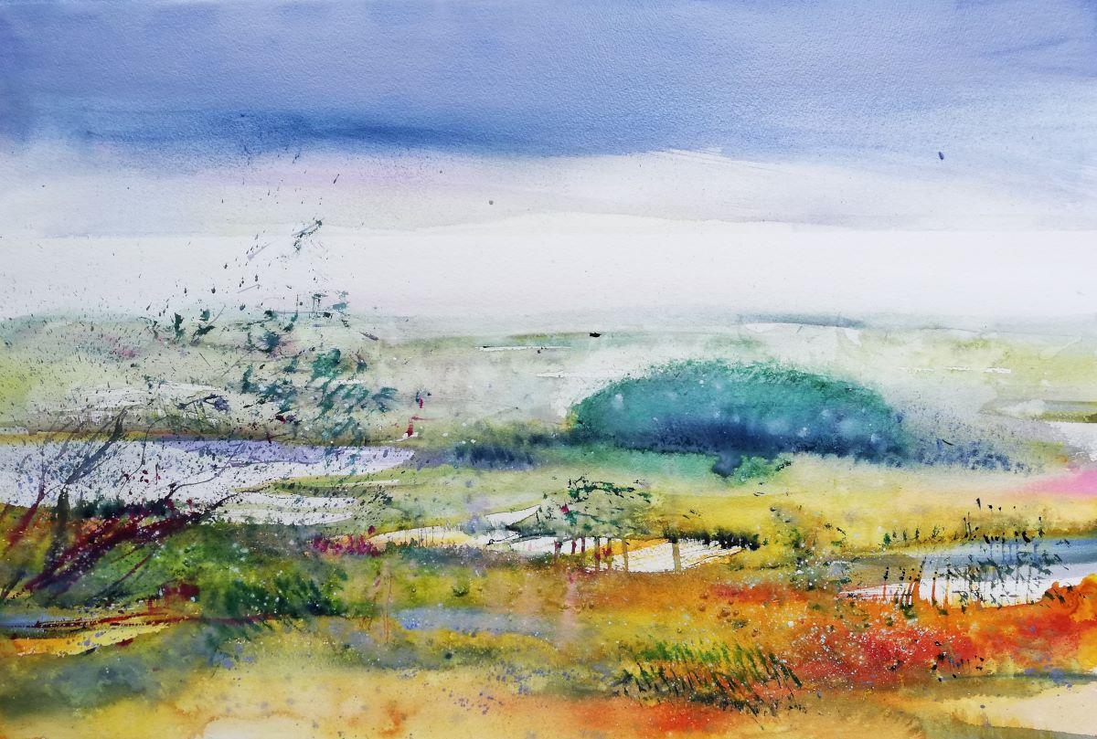 Landschaftsmalerei in Aquarell