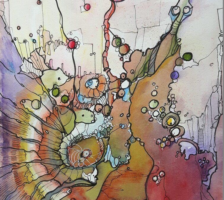 kreative Spirale