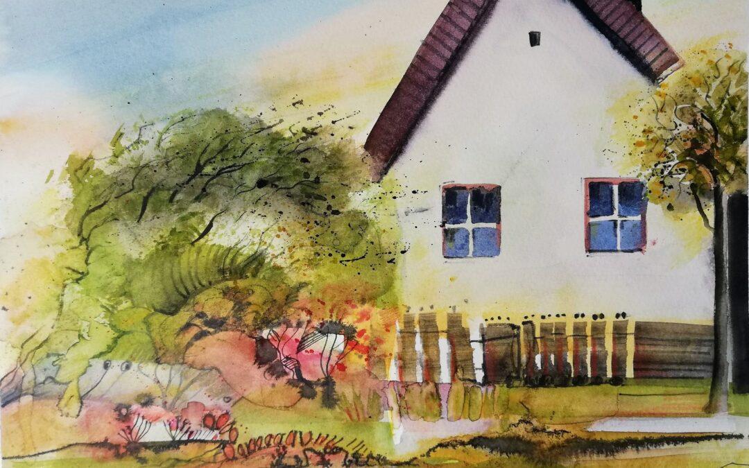 Biedermeier Haus