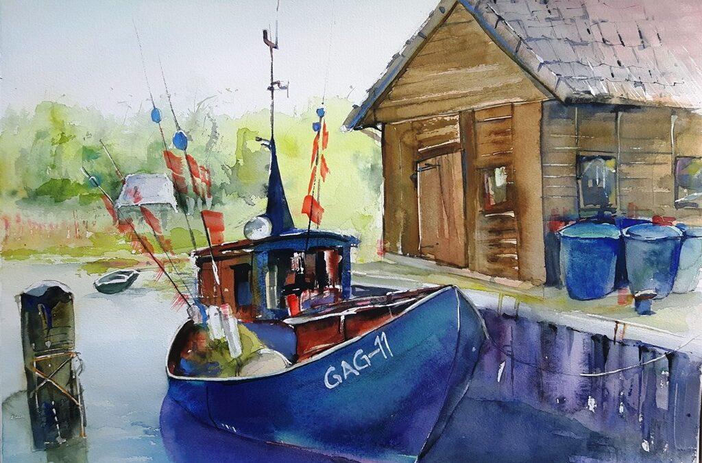 Fischerboot Gager