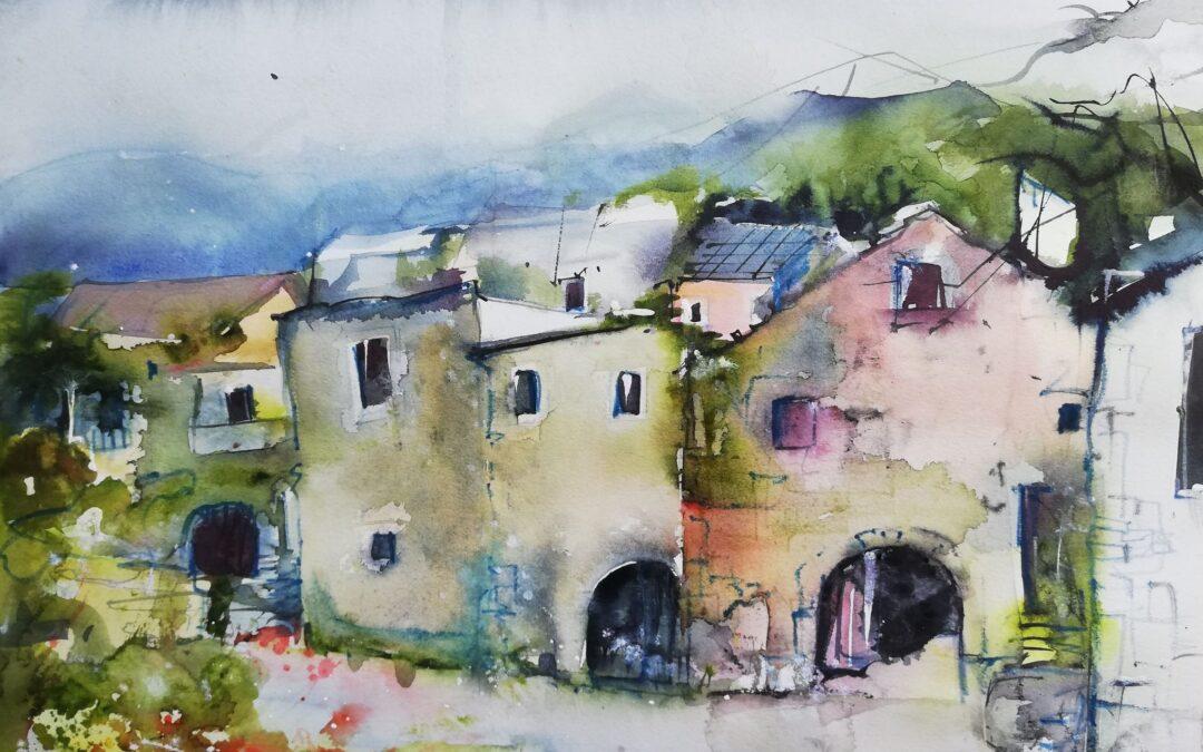 Kroatisches Dorf